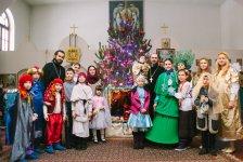 Рождественская постановка детской воскресной школы 2016